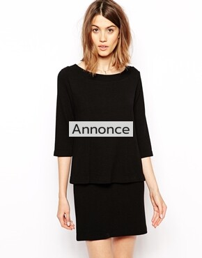 Ganni Dress with Double Layer