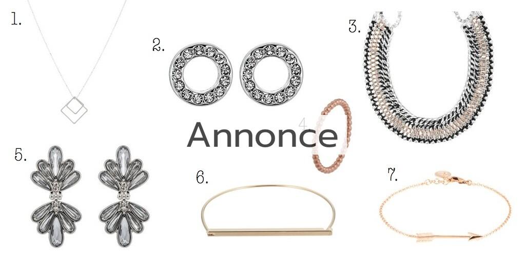 flotte billige smykker halskæder chunky statement tilbud rabat udsalg