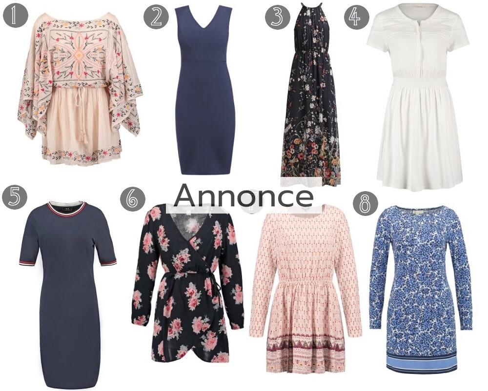 kjoler til foråret rabat rabatkode online unge billige tilbud udsalg