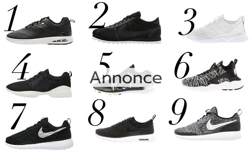 sneakers udsalg tilbud rabatkode nike adidas dame unge