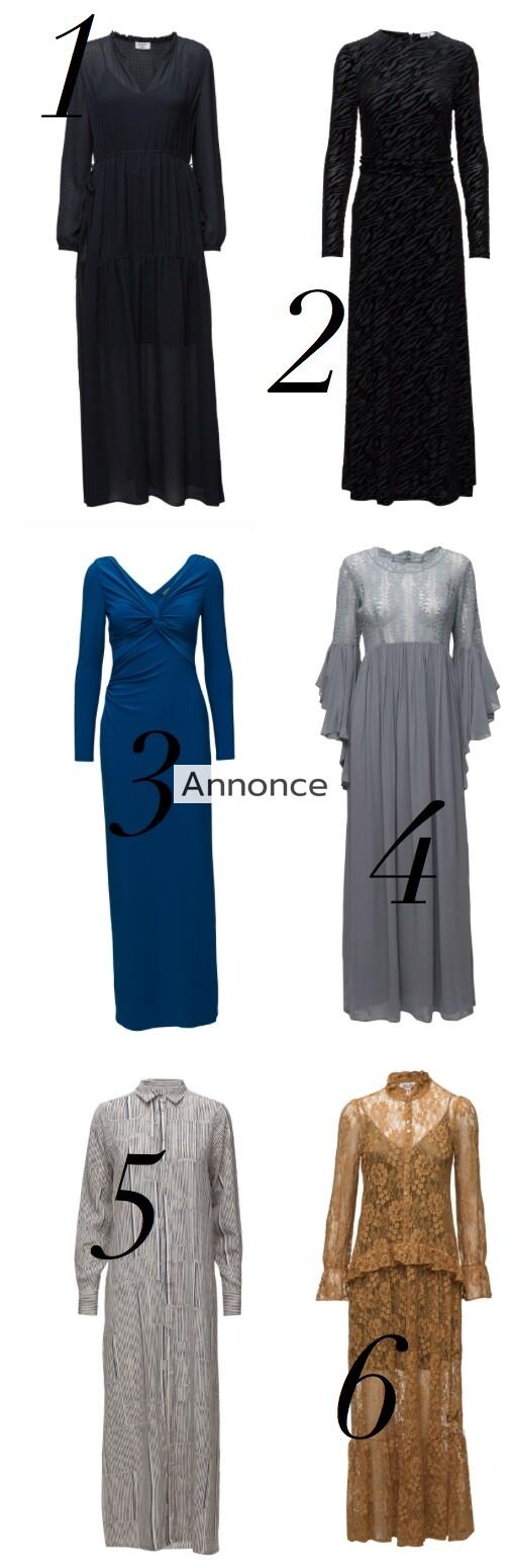lange kjoler med lange ærmer til kvinder damer unge tilbud rabatkode udsalg flotte billige festkjoler gallakjoler