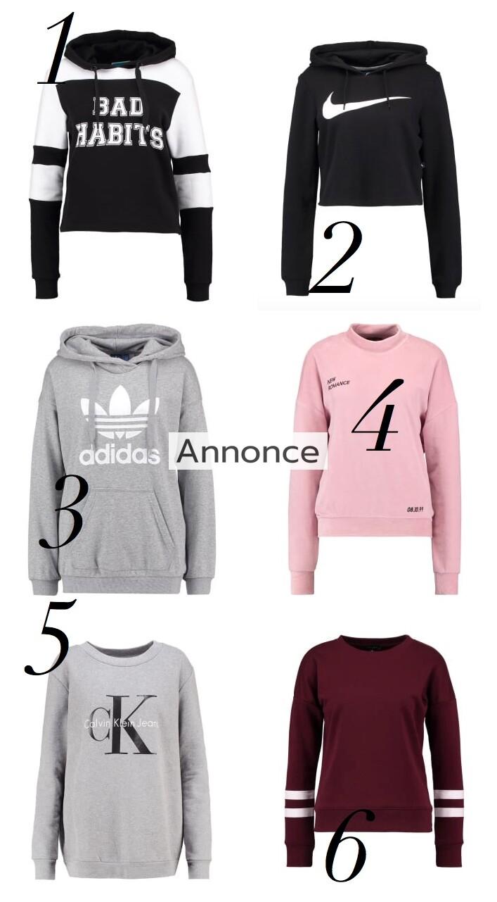 sweatshirts sweatshirt til kvinder unge damer kvinde hende billige flotte udsalg rabatkode tilbud med print