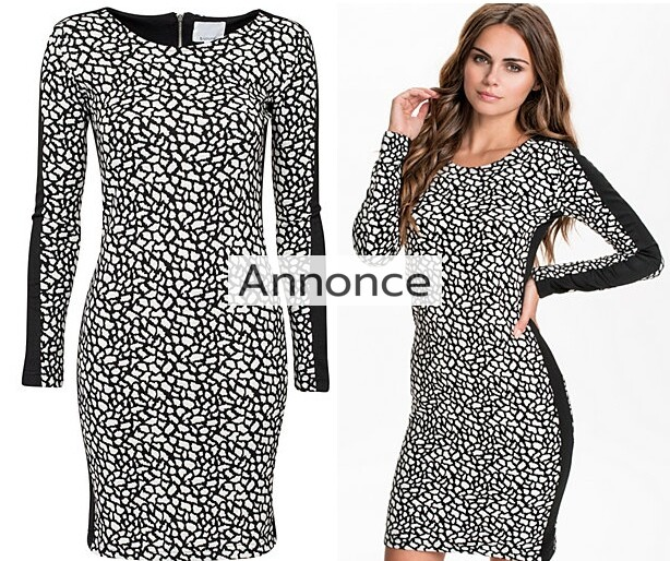 b_young_peach_dress_kjole_billig