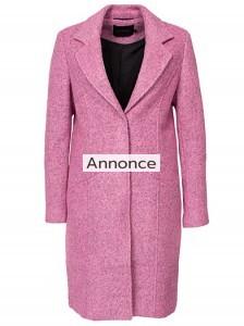 GESTUZ ROSA COAT frakke til store kvinder oversize