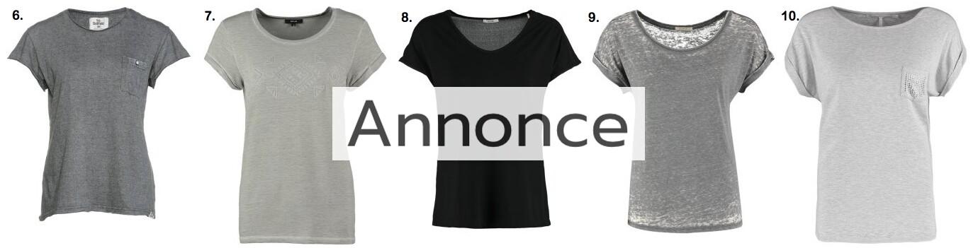 billige basic t-shirts bluser modetendenser udsalg rabatkode zalando