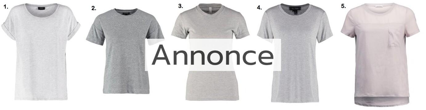 billige basic t-shirts modetendenser udsalg