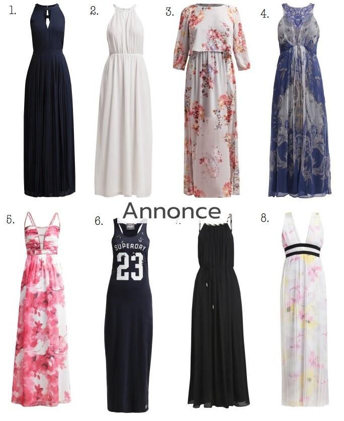 maxi kjoler udsalg
