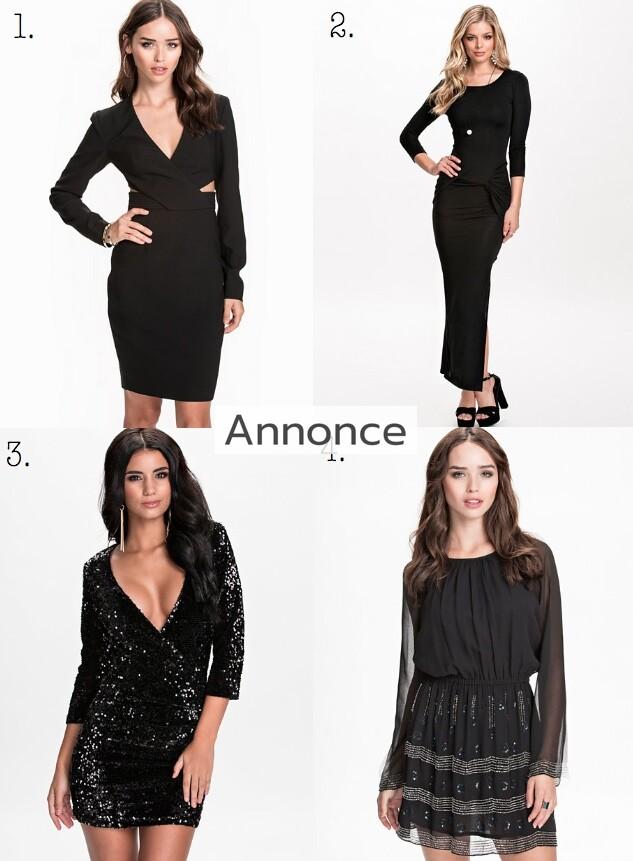 Kjoler med lange ærmer fire smukke og billige modeller