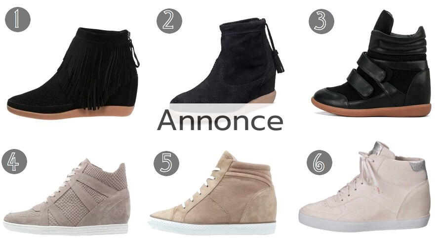 isabel marant etoile sko sneakers inspireret inspirerede udsalg billige bobby