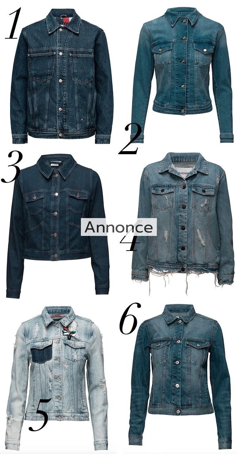 denim jakke jakker til kvinder unge udsalg billige rabatkode