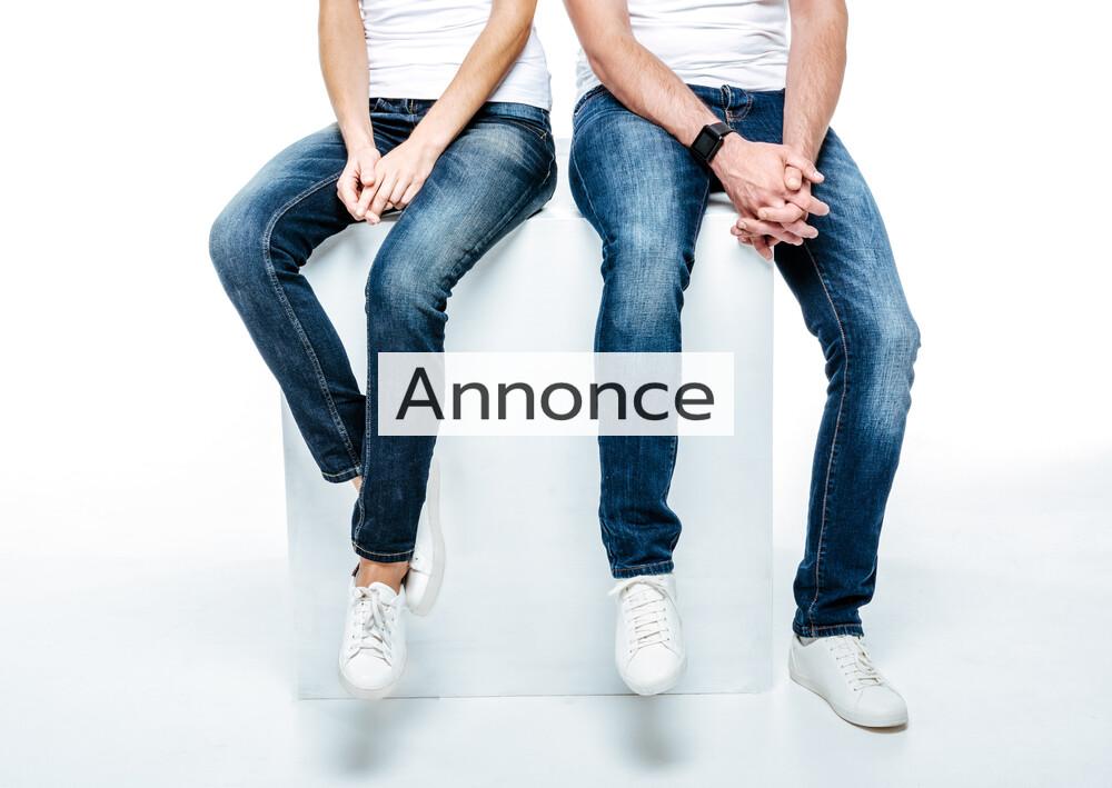 342ab2c26272 Sådan finder du flotte jeans til store mænd og kvinder - Mode tendenser